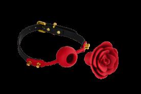 Bâillon Rose Zalo & Upko Rose Ball Gag