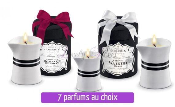 bougies de massage envoûtantes