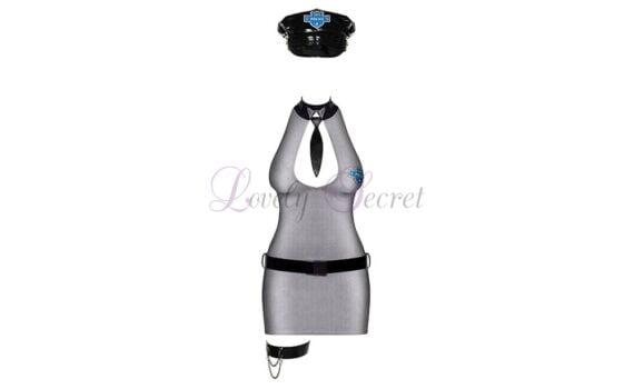 Kostuum - Sexy Politieagente - Obsessief