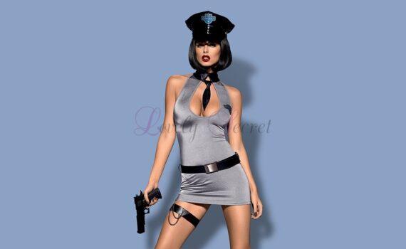 Costume - Policière Sexy - Obsessive