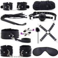 Zwarte BDSM-initiatieset