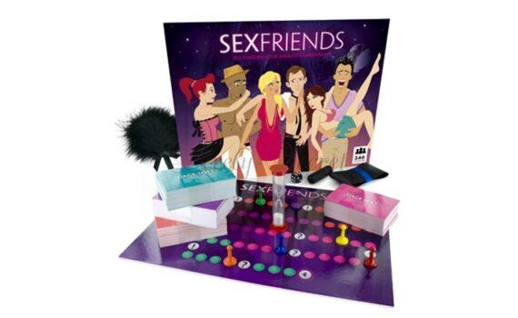 Sexfriends-spel voor koppels en libertijnen
