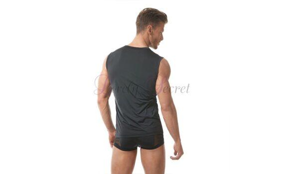Borst-T-shirt voor heren