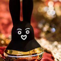 Ondeugend konijn II? Zwarte fontein