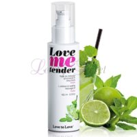 Love Me Tender, Huile de Massage chauffante et Comestible
