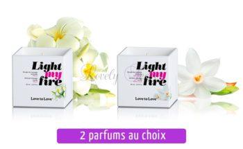 Bougies de massage LoveToLove