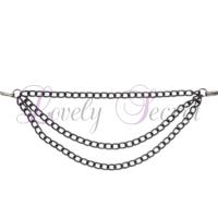 Pinces à tétons avec chaînes