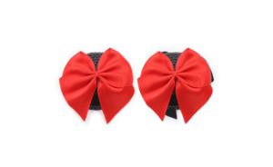 Noir noeud rouge